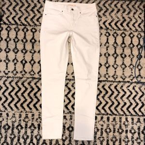 Levi's White 311 Ripped Skinny Jeans NEW